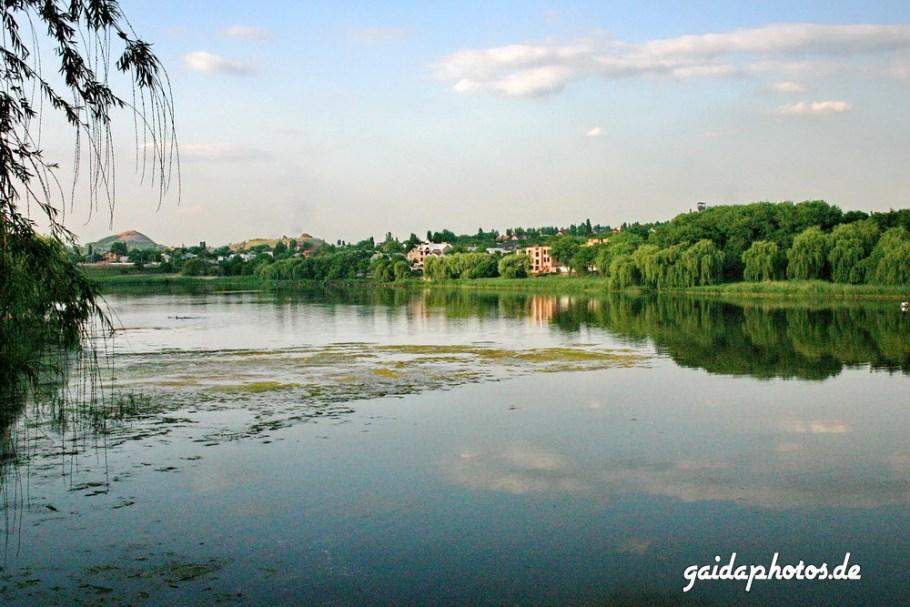 Bilder aus der Ukraine: Donetsk Kalmius Reservoir