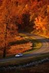 A Fall road near Gaie Lea in Staunton, VA
