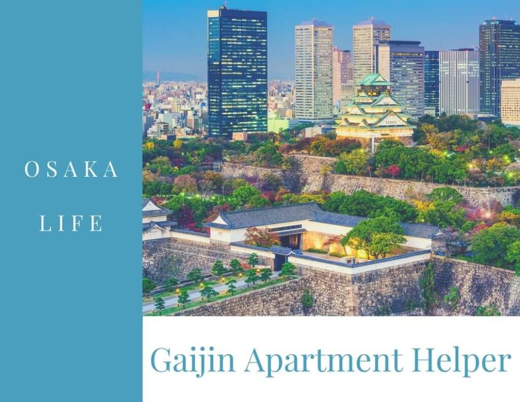 Osaka, Gaijin Apartment Helper