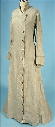 Edwardian woman's duster.