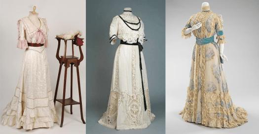 Edwardian Afternoon Dresses