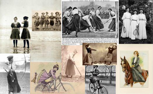Edwardian Sporting Women