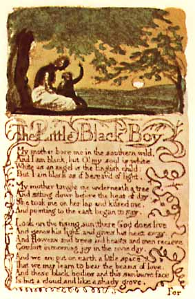The Wm Blake Page The Songs Of Innocence