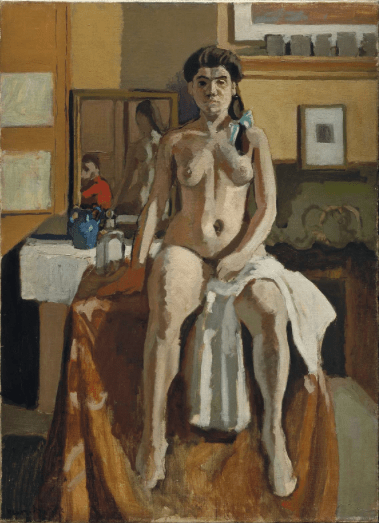 "Who am I as an Artist? Henri Matisse, ""Carmelina,""1903, oil on canvas, 32 x 23 1/4 in, Museum of Fine Arts, Boston"