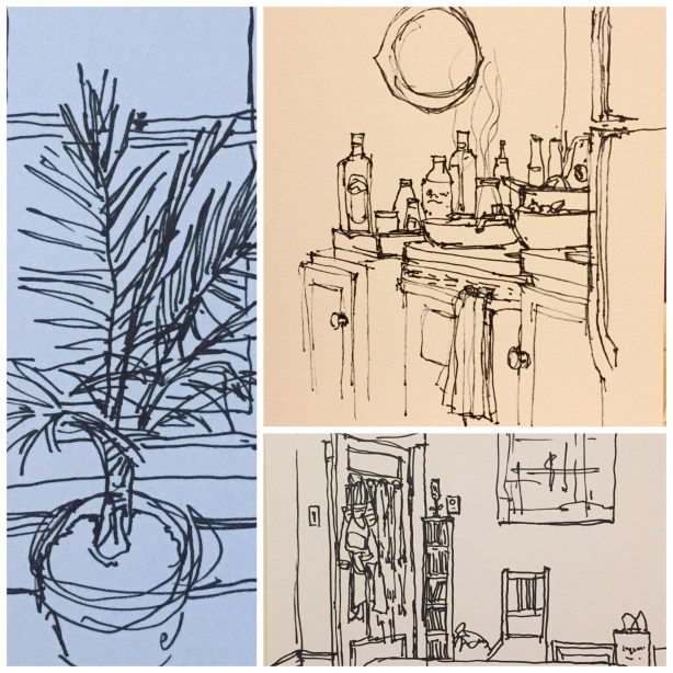 Daily Sketches: Around The House