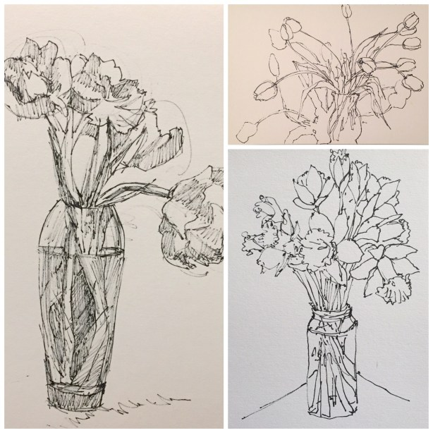 Daily Sketches: Flowers
