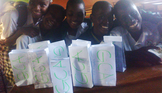 Forest-hill-college-students-making-paper-bags