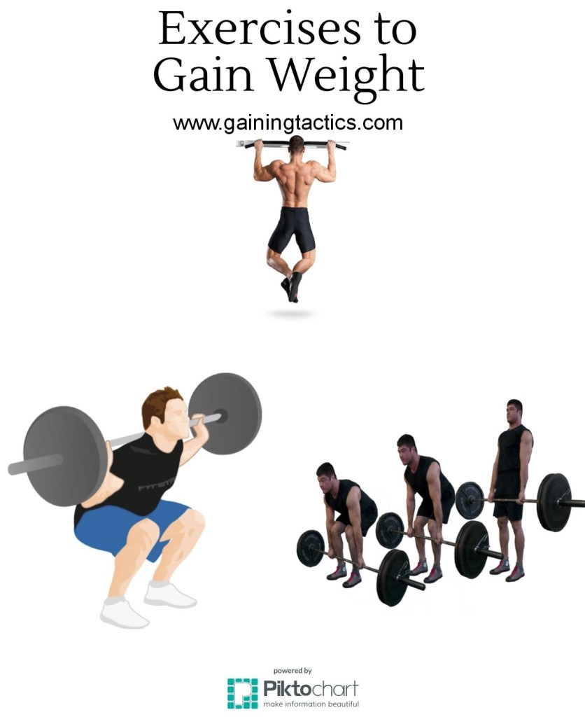 Exercises to gain weight