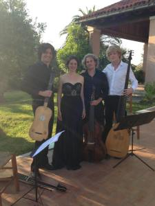 Simone Vallerotonda, Nora Tabbush, Andrea De Carlo, Pieter Theuns