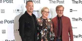 """Fuck It!"" Streep, Hanks, Spielberg Talk About Freedom of the Press in Milan"