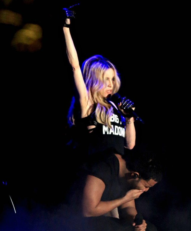 Oops, she did it again, Madonna besa a Drake en Coachella