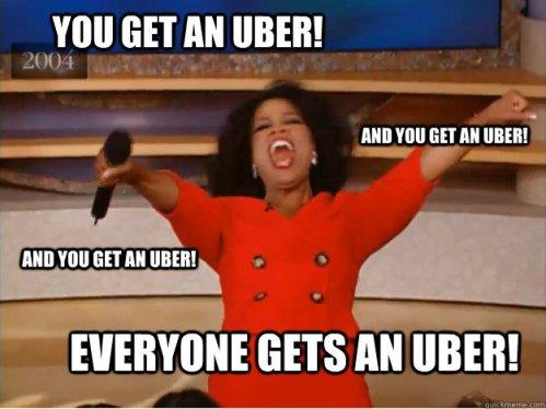 Memeando: Taxis VS Uber
