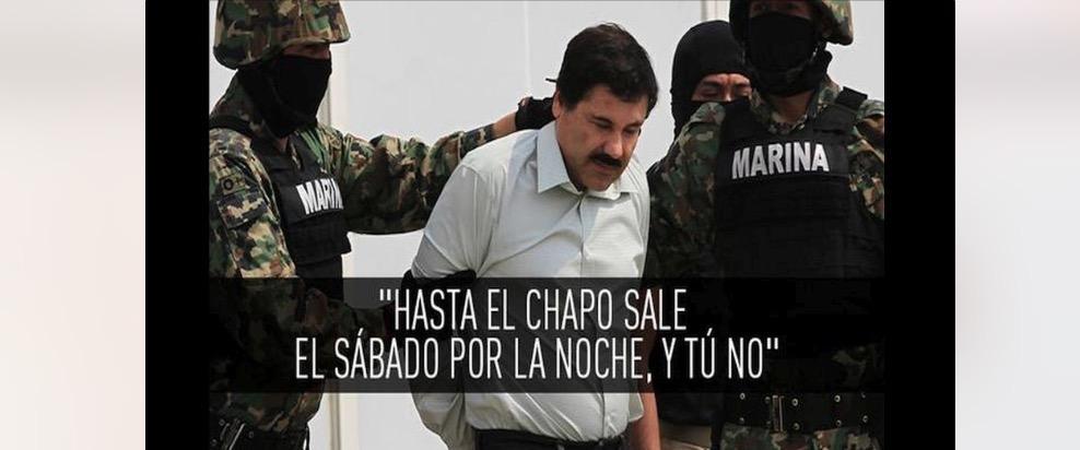 Memeando: Chapo se fuga