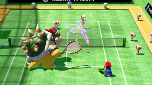 Mario Tennis Ultra Smash: no ilusiona tanto como antaño