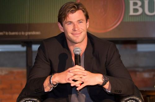 """Chris Hemsworth (o sea, """"Thor"""") visita la Ciudad de México"""