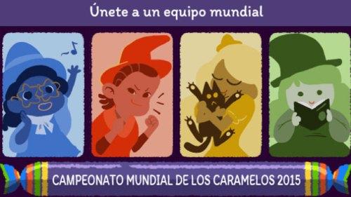 Google celebra Halloween: Campeonato Mundial de Caramelos