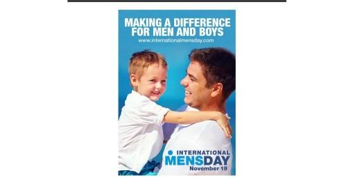 Día Internacional del hombre, ¡también lo merecen!