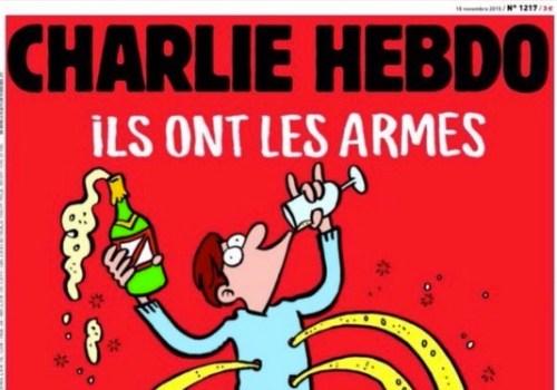 """Charlie Hebdo dice: """"A la mierda! nosotros tenemos Champaña"""""""