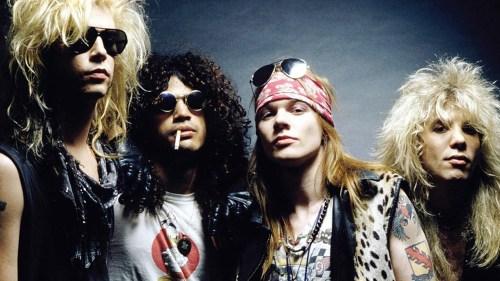 Guns N' Roses con su alineación original hasta el 2017