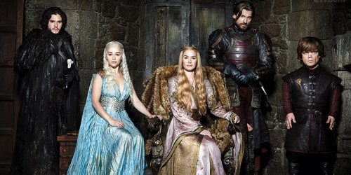 Game of Thrones: la más pirateada en 2015