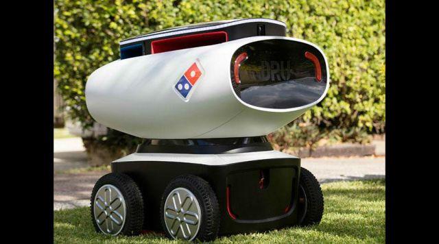 Video: el primer robot repartidor de pizzas