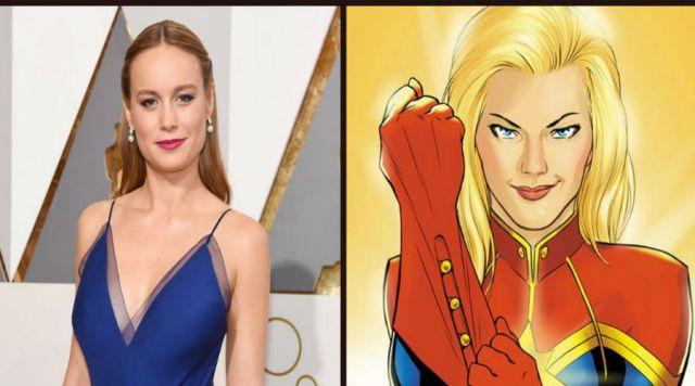 """Brie Larson en platicas para interpretar a """"Capitán Marvel"""""""