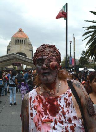 Fotos: Los zombis se comen a mis vecinos: la marcha en la CDMX