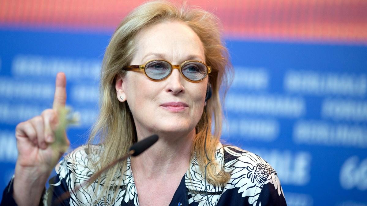 Meryl Streep recibirá el premio Cecil B. DeMille por su trayectoria fílmica