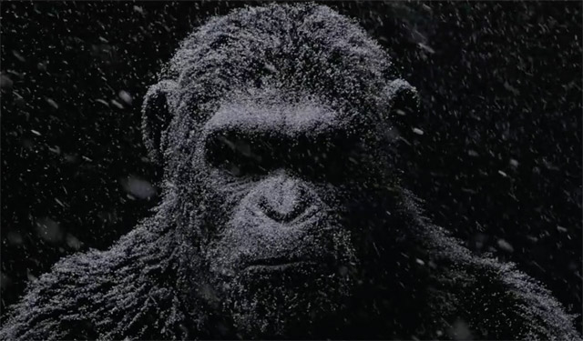 War for the Planet of the Apes, primer tráiler