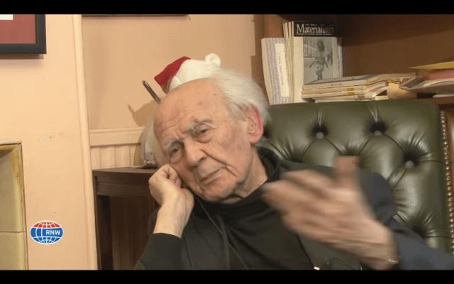 "Murió Zygmunt Bauman, nos queda su ""modernidad líquida"""