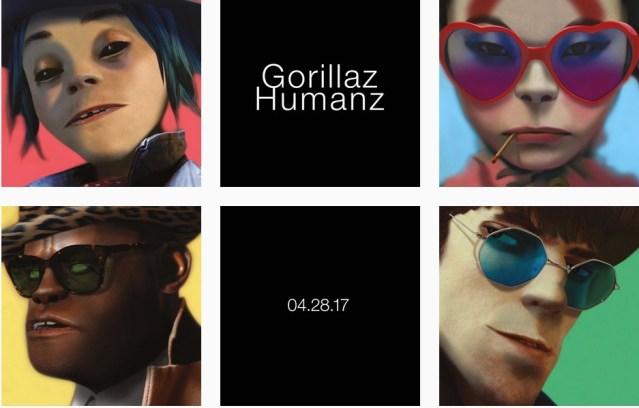 Gorillaz #Humanz | la emoción nunca se fue