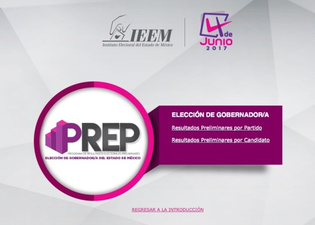 Elecciones EDOMEX 2017   sigue aquí el PREP