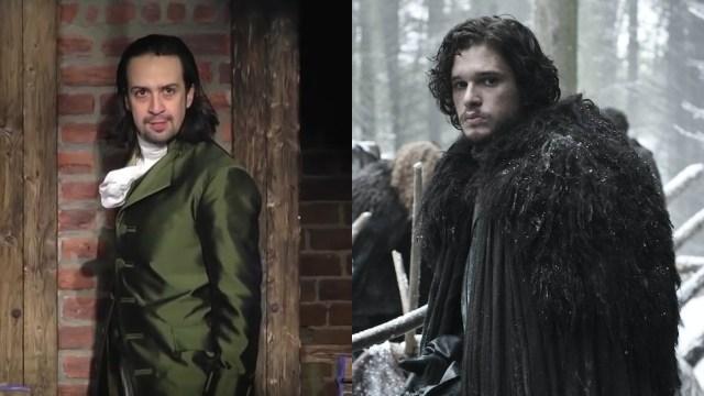 """Video: Cuando mezclas """"Hamilton"""" con """"Game of Thrones"""""""
