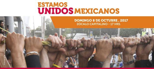 """Concierto """"Estamos Unidos Mexicanos """"en el Zócalo capitalino"""