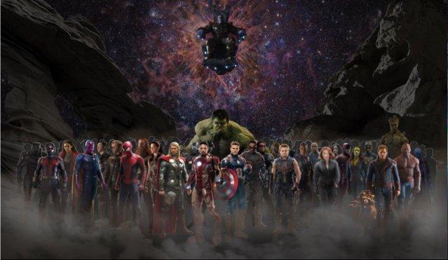 Fotos: Vanity Fair reúne a todos los superhéroes de Avengers Infinity War