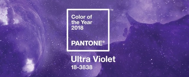 Ultra Violet, Pantone color of the year #2018