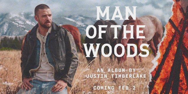 "Justin Timberlake lanza adelanto de nuevo álbum, ""Man of the Woods"""