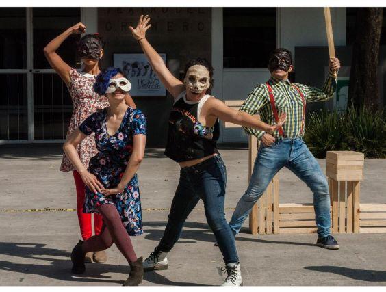 Festival de Teatro Callejero en la CDMX
