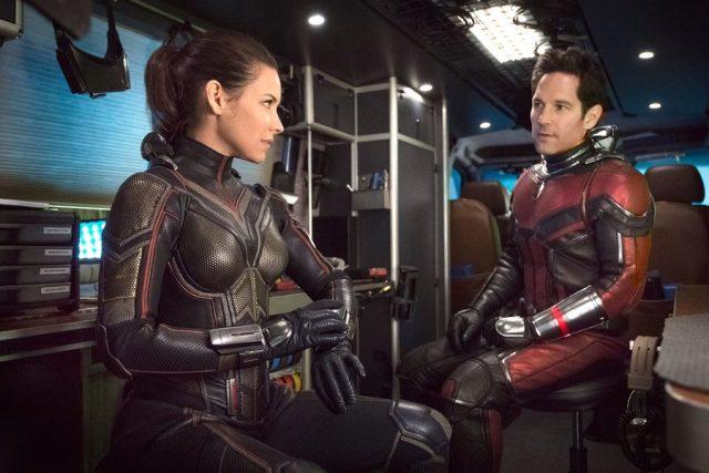 Ant-Man y la avispa: cuando hasta el guión se hace chiquito