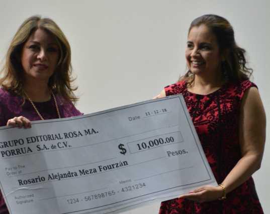 """Alex M. Fourzan gana el premio de Novela Corta Rosa Ma. Porrúa 2018 con """"Soldado sin cruzada"""""""