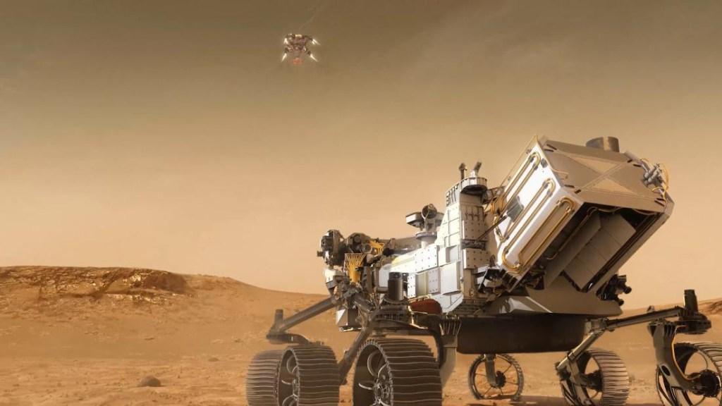 Rover Perseverance comienza su primera misión científica en Marte