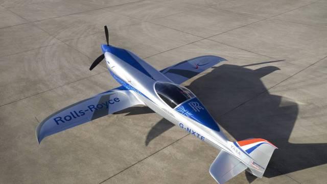 Avanza industria aeronáutica eléctrica con avión de Rolls-Royce