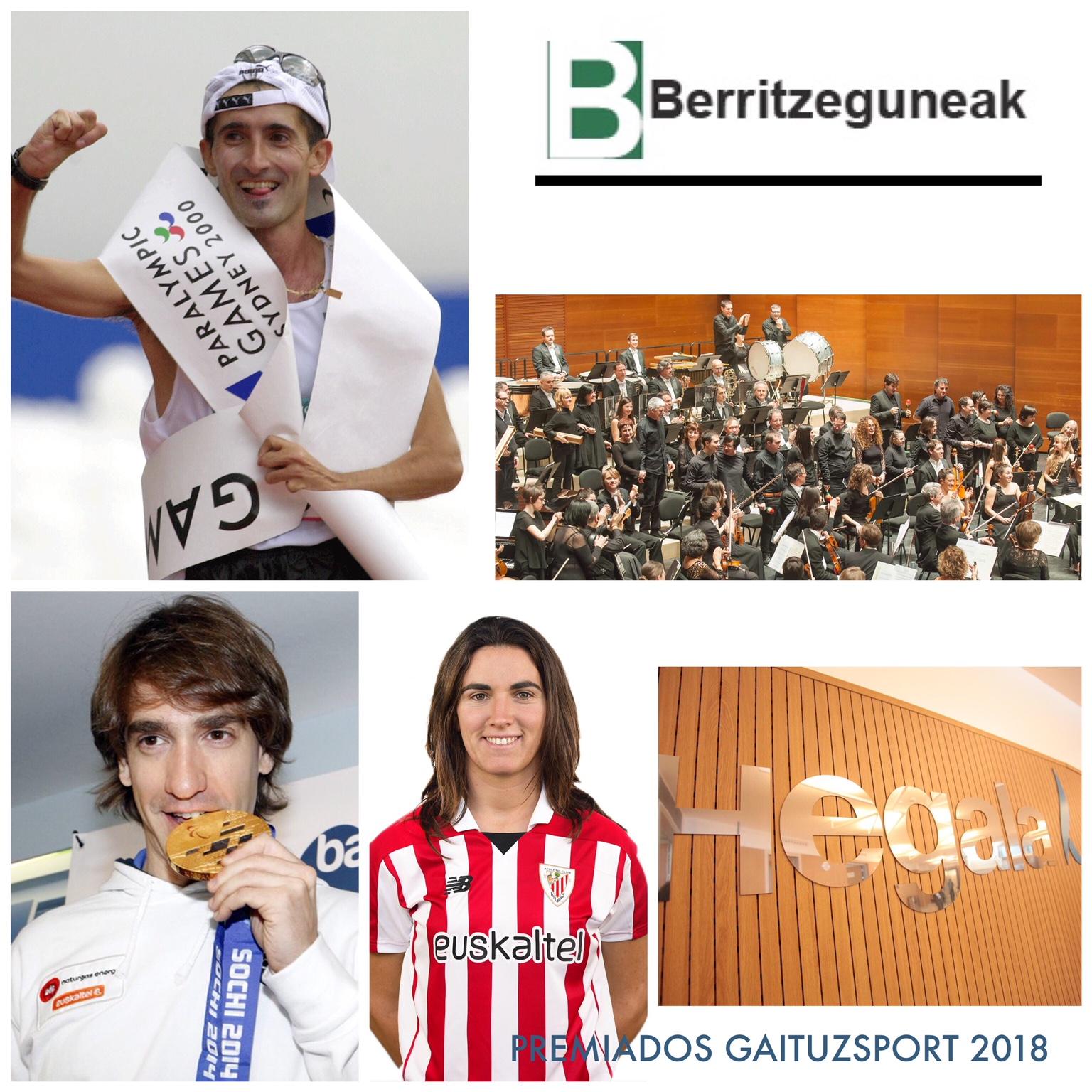 Premios GaituzSport 2018 deporte