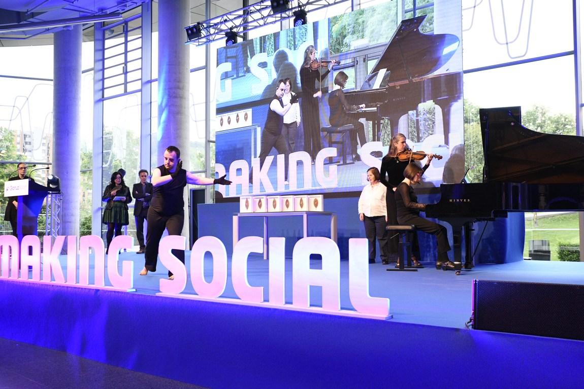 Premios GaituzSport Actuación Mosaico de Sonidos