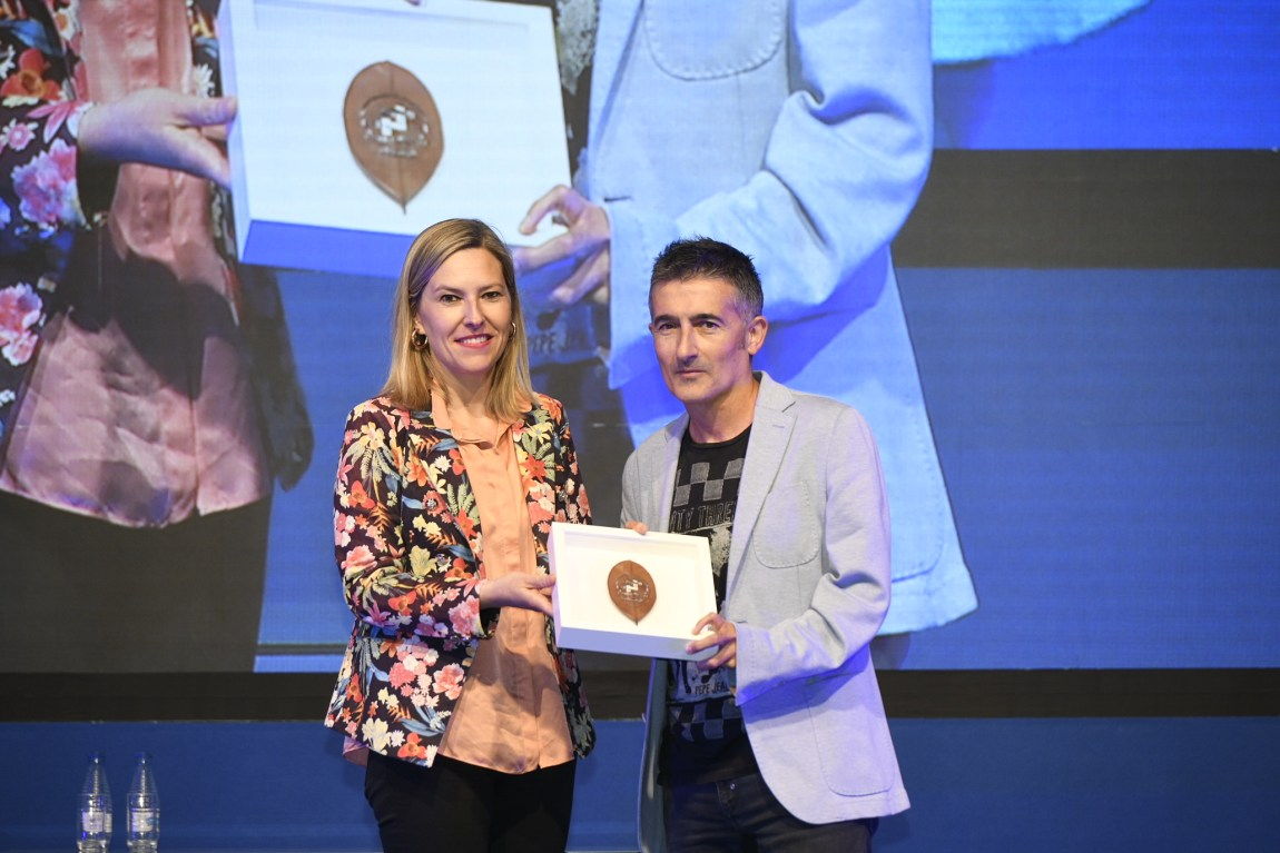 Javi Conde Premio GaituzSport a la trayectoria