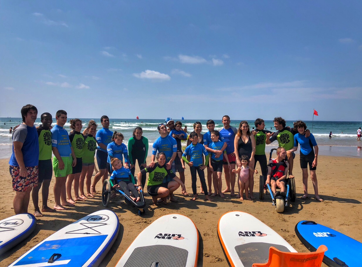 Experiencias de Surf Inclusivo