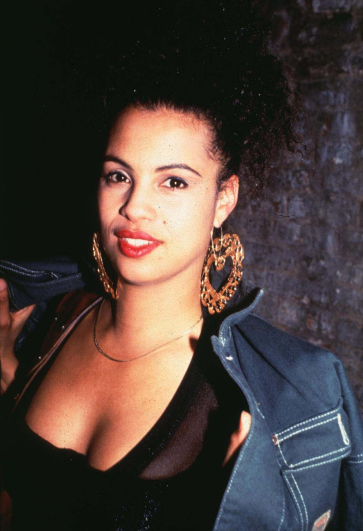 Neneh Cherry at the Club USA in New York City, New York (Photo by Steve Eichner/WireImage)