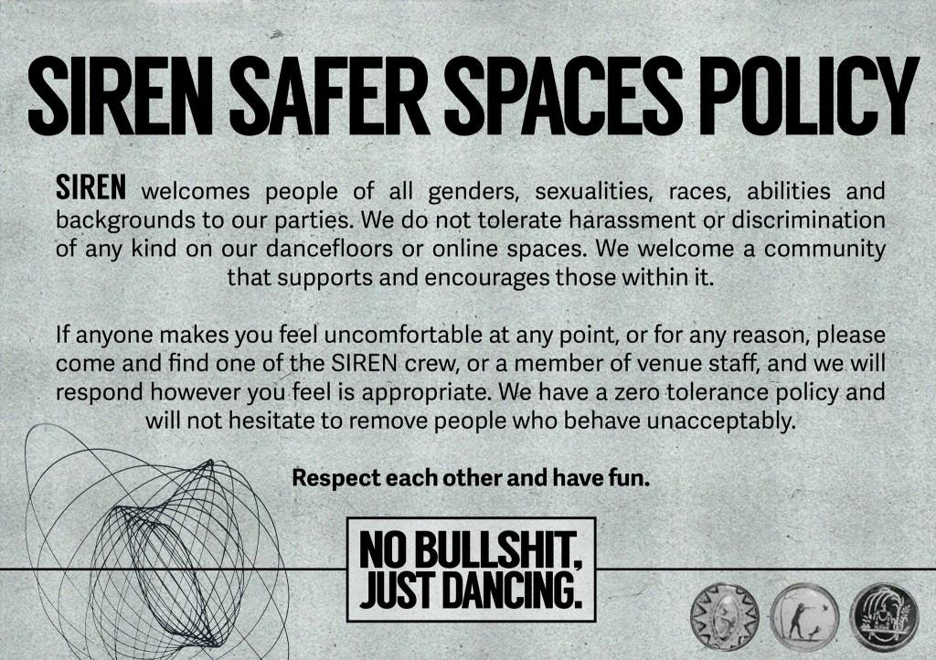 siren safe space