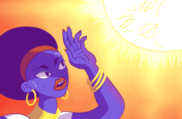 Women of Colour sun tanning misconception - Jeannette Lee