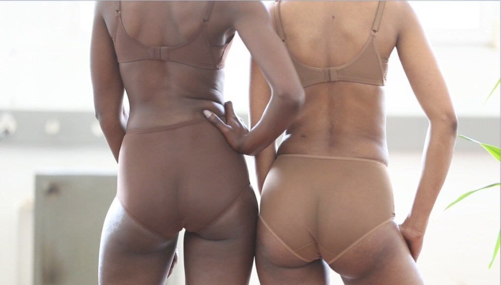 OwnBrown lingerie - Amani and Kimya colourway